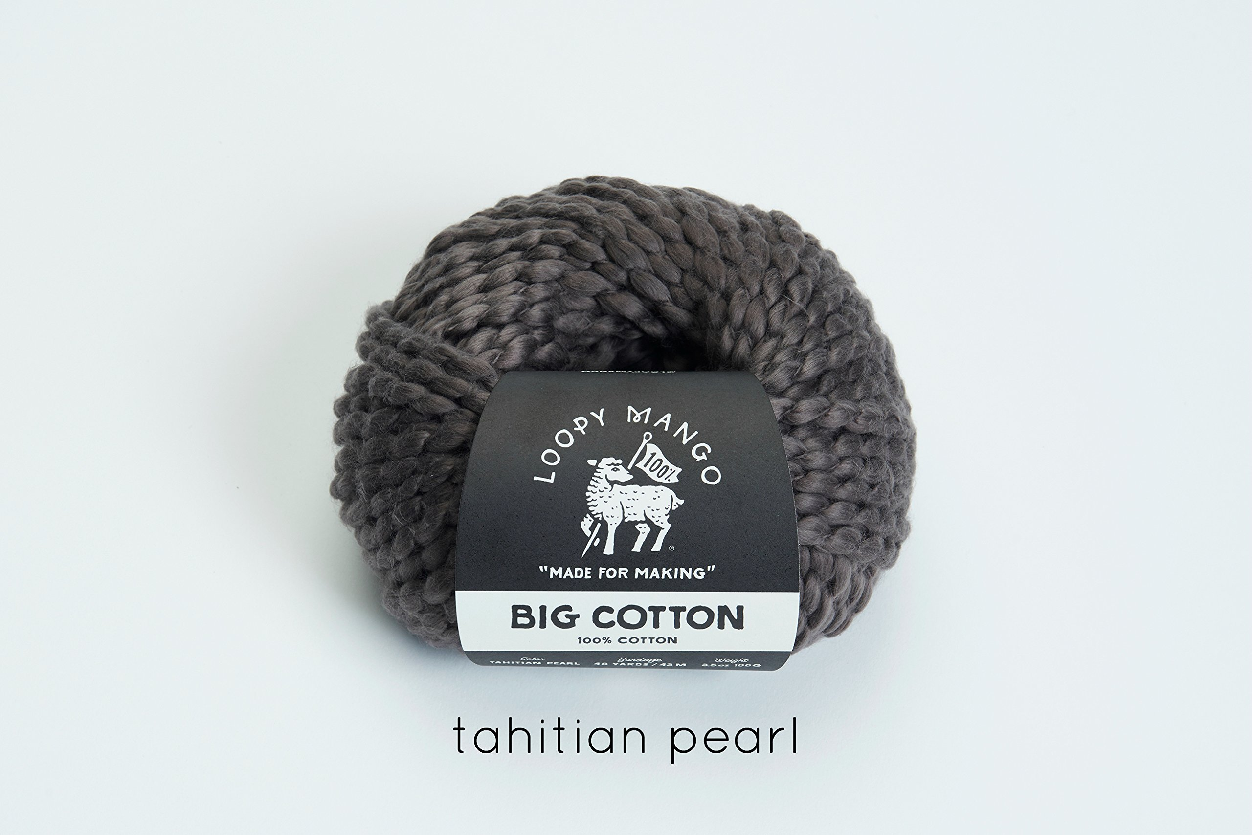 Loopy Mango DIY Kit - Cotton Baby Blanket-Tahitian Pearl by Loopy Mango (Image #6)
