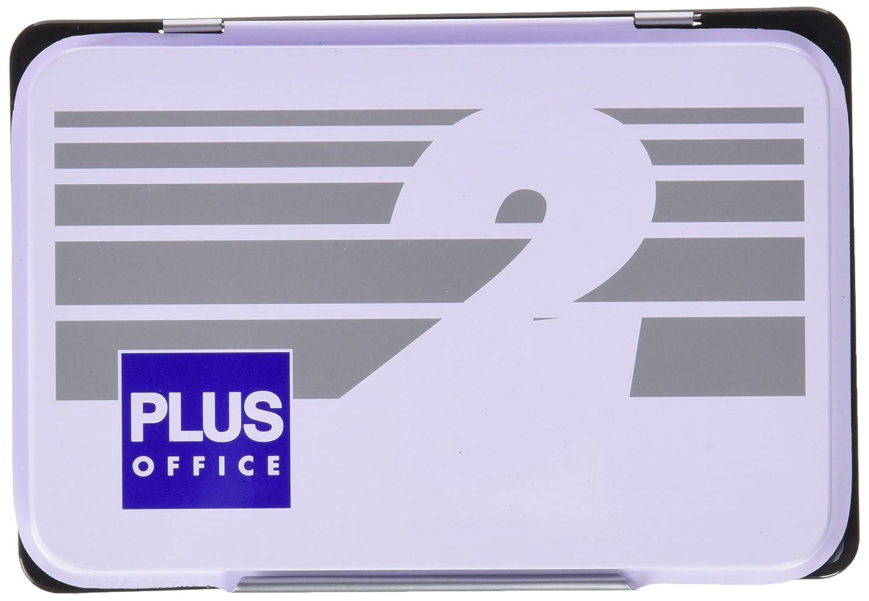 Plus Office 02 - Almohadillas para sellar nº 2, 80 x 120 mm, negro Makro Paper SP.SL