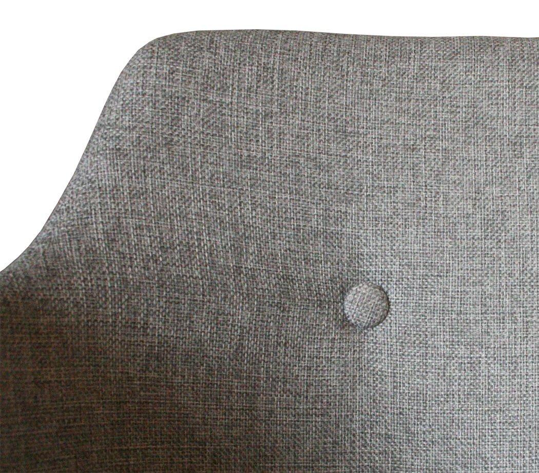 KMH®, KMH®, KMH®, 2er Set Designstuhl Armlehnenstuhl Esszimmerstühle Jasmin mit Armlehnen in hellgrau ( 201743) B01AT5EPA6   Verrückter Preis, Birmingham  059cb3