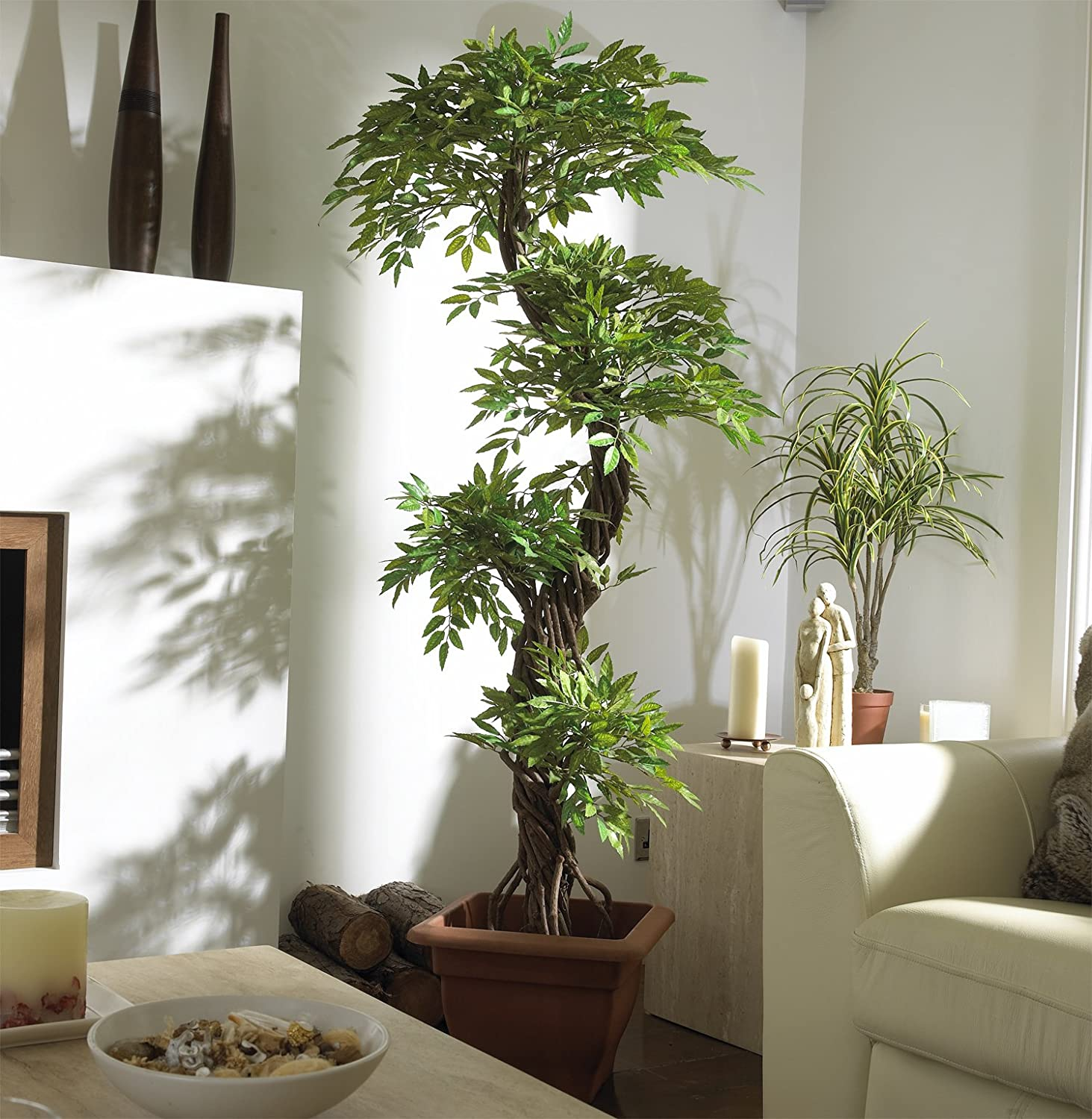 Beautiful Indoor Artificial Trees Images Decoration