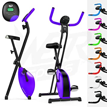 We R Sports X-Bike Purple - Elíptica de fitness (plegable, magnético)