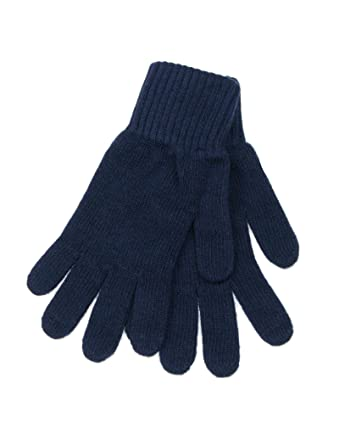 ca7a3a1e6 Lovarzi Navy Blue Mens Wool Gloves - Wool gloves for men - Warm woolen  gloves