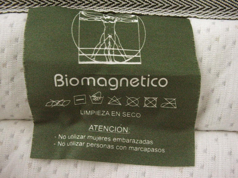 CUBRECOLCHON IMANTERAPIA BIOMAGNETICO ALOE VERA ALTA CALIDAD 190x105 CM: Amazon.es: Hogar