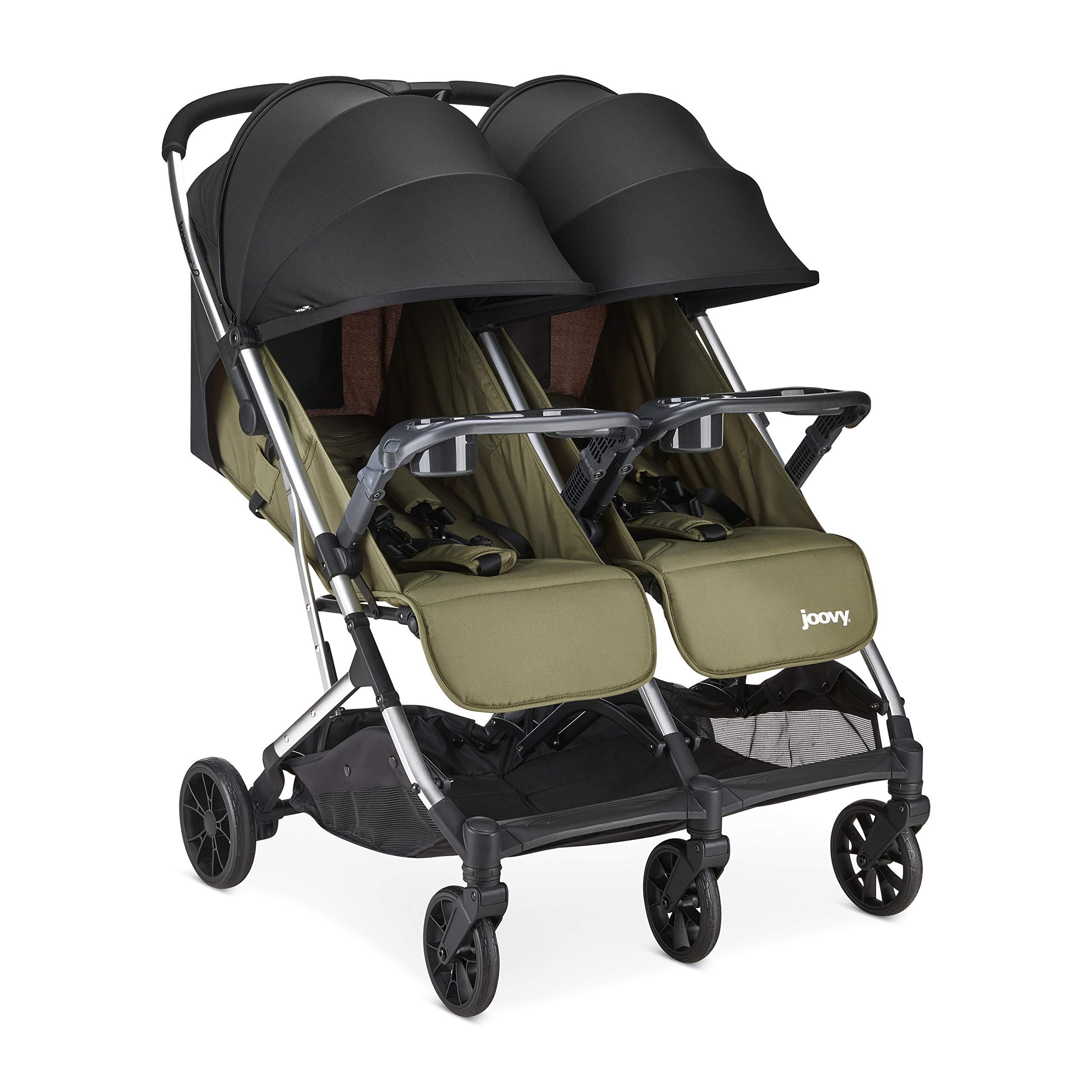 Joovy 8232 Kooper X2 Stroller, Olive