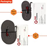 GM CLIMBING Pack of 3 16mm Nylon Sling Runner 120cm