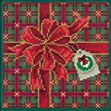 Cozy Feet Beaded Counted Cross Stitch Kit Mill Hill Buttons /& Beads 2017 Winter Series MH141733