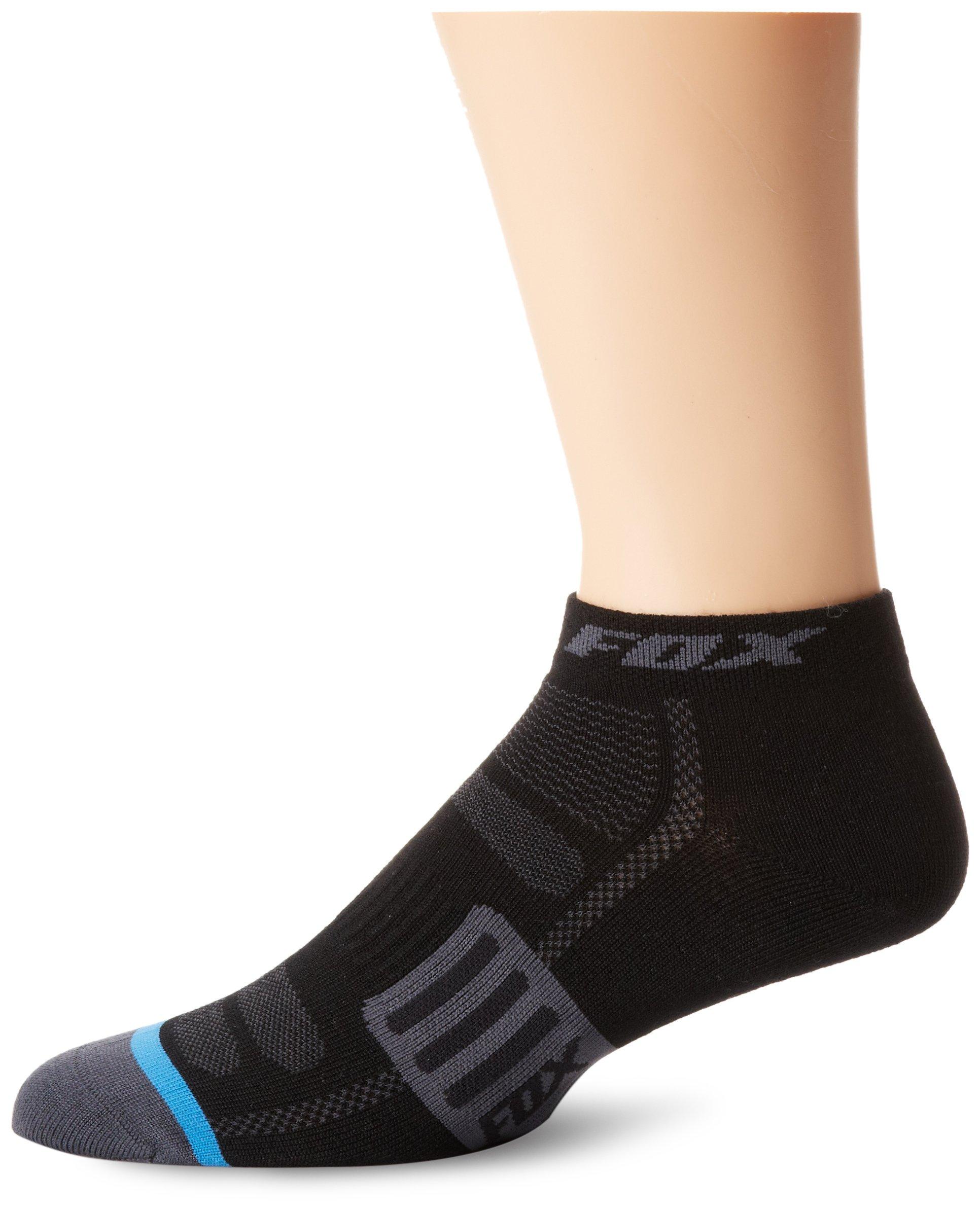 Fox Head Men's 2-Inch Merino Wool Socks, Black, Large/X-Large