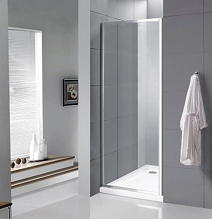 VeeBath Fenwick 1000 mm de ancho Panel lateral (para carcasas de ducha Fenwick) cromado