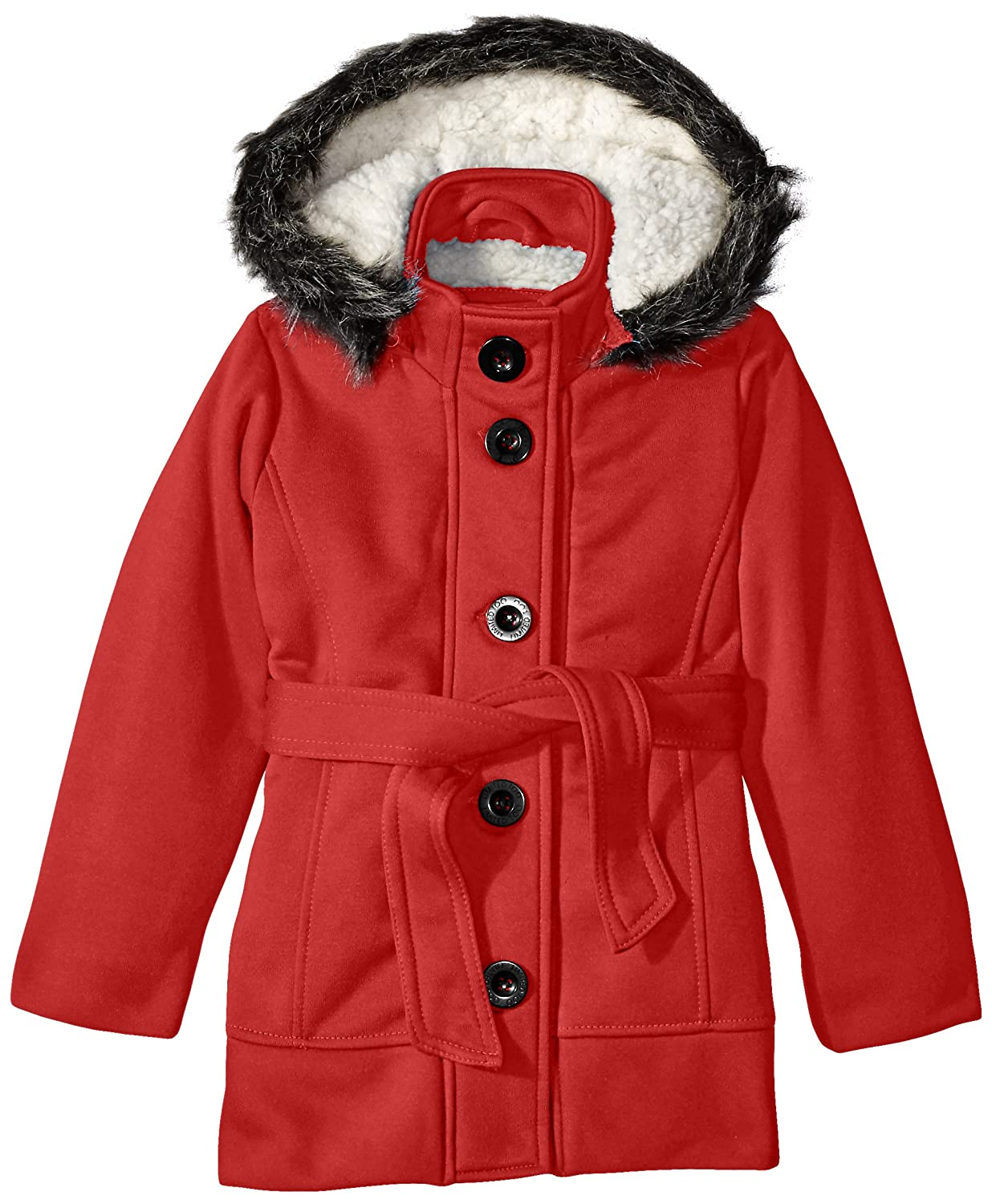 Limited Too Girls' Belted Fleece Jacket 72078