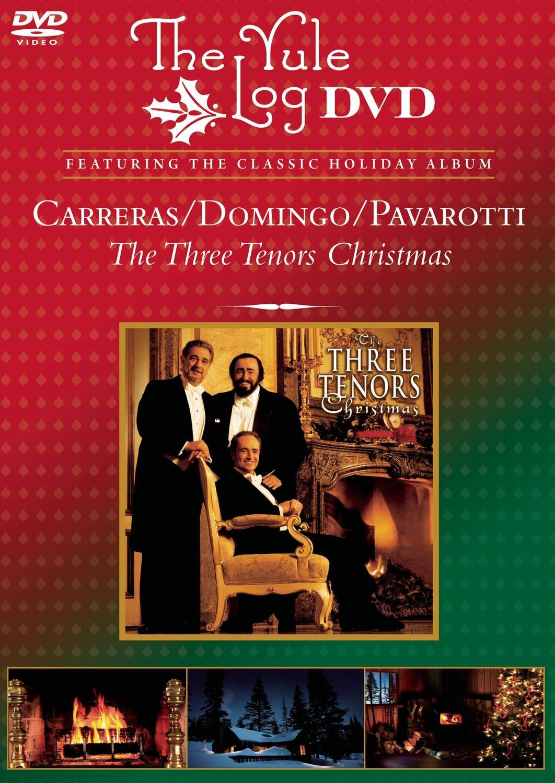 Amazon.com: The Three Tenors Christmas - The Yule Log DVD: The ...