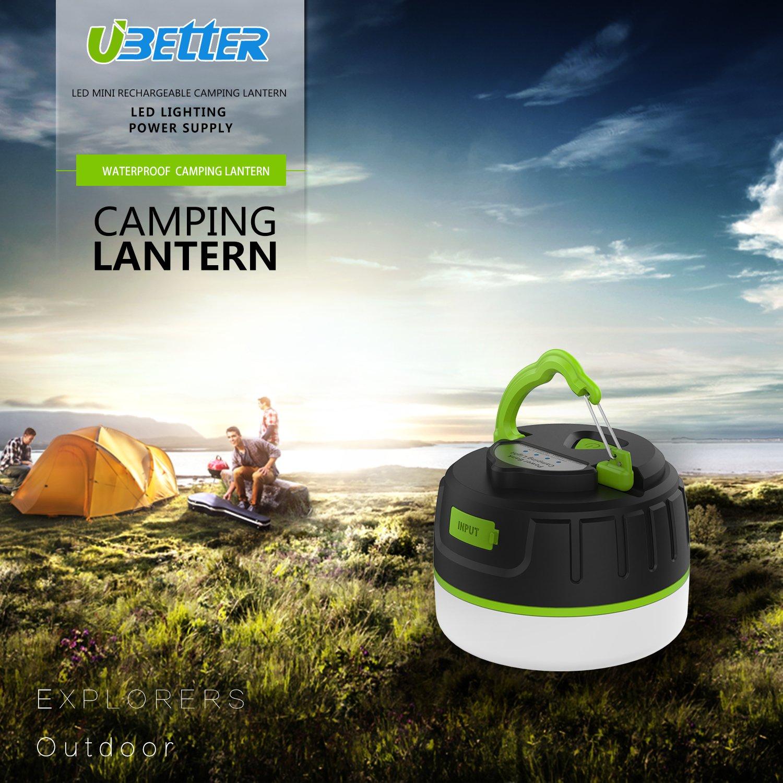 amazon com magnet camping lantern ubetter 5200mah ultra bright