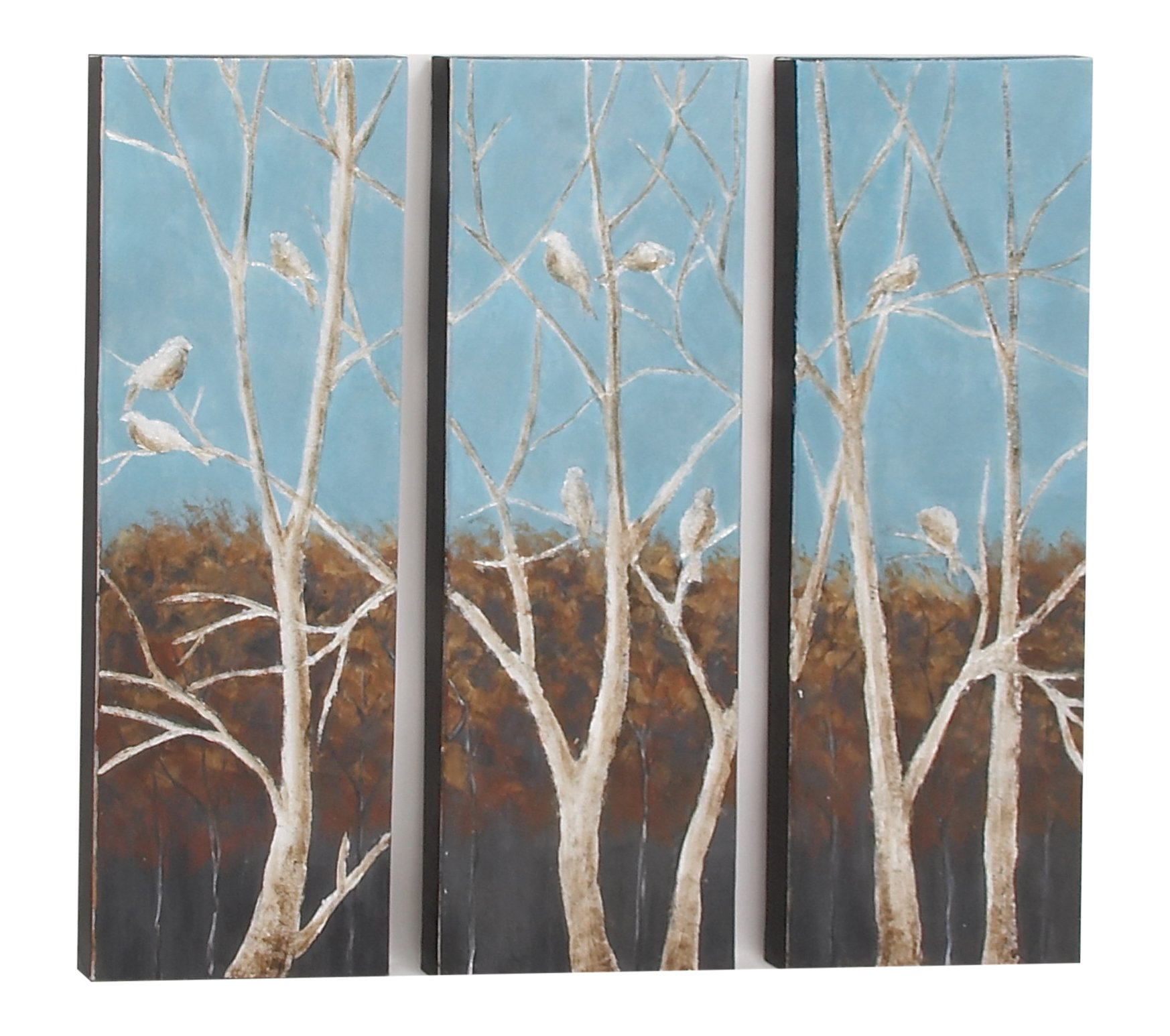 Benzara 43952 Art Decor, Set of 3, 48'' W x 47'' H