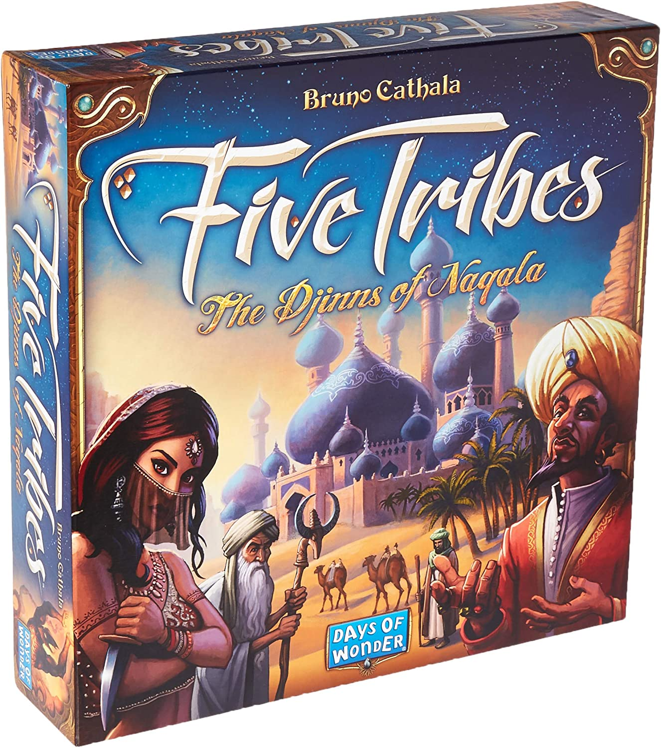 Five Tribes The Djinns of Naqala Jeu de société (français Non Garanti)