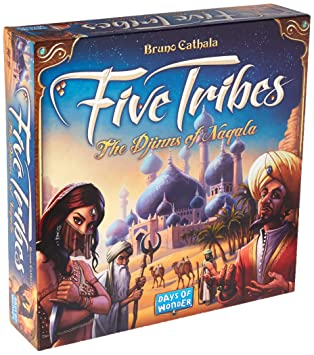 96967e2eb6a Days of Wonder Five Tribes the Djinns of Naqala Board Game