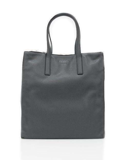 Prada Maxi Shopping Bag Grigio - MISURE (cm)   L.36 H.38 P.18 ... d2d44ac4337