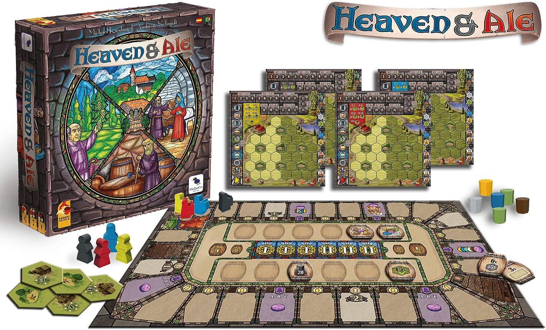 Ediciones MasQueoca - Heaven & Ale (Español)(Portugués): Amazon.es: Juguetes y juegos