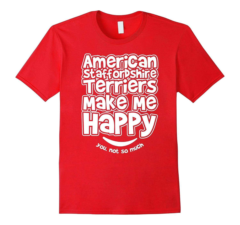 Happy American Staffordshire Terrier Shirt-Art
