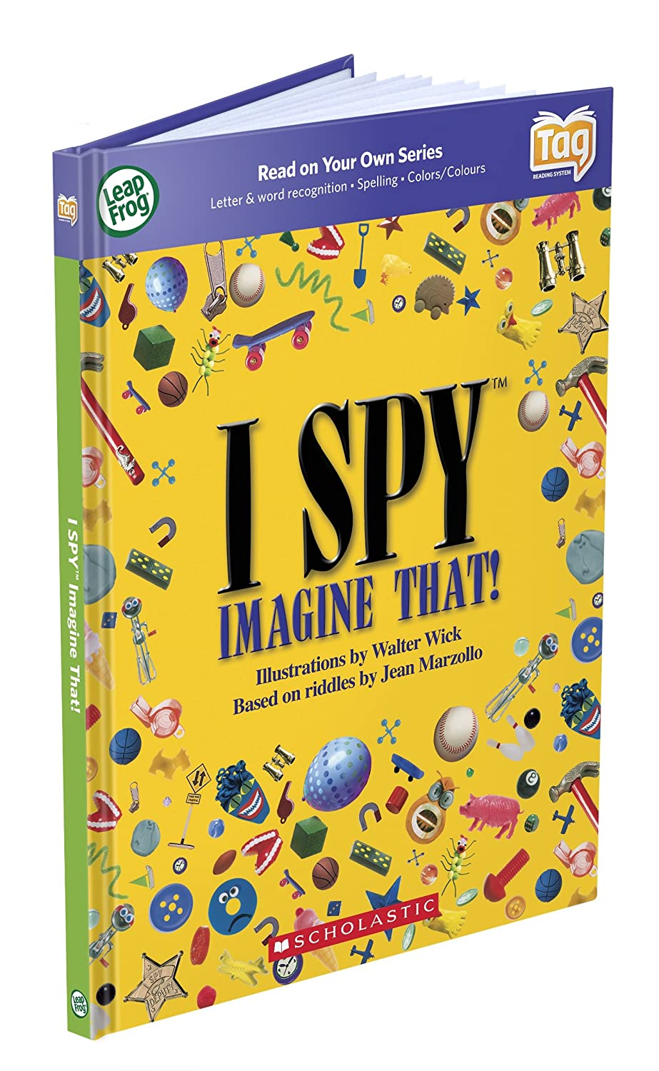 LeapFrog Tag Activity Storybook I SPY Imagine That!