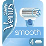 Gillette Venus Smooth Women's Razor Blades - 4 Refills
