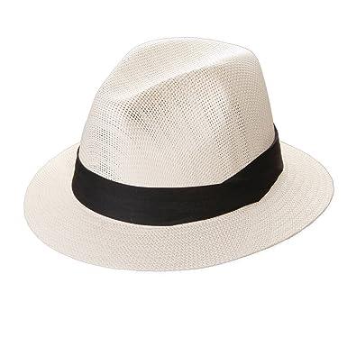 DPC Global Unisex Matte Toyo Straw Gent s 3-Pleat Sun Safari Hat (Medium) 9e86830c473