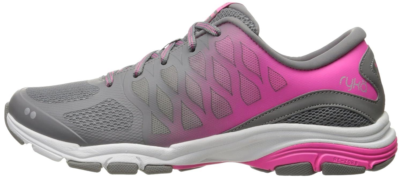 Ryka Women's Vestige RZX Cross-Trainer Shoe B01KW060JW 5.5 M US Grey/Pink
