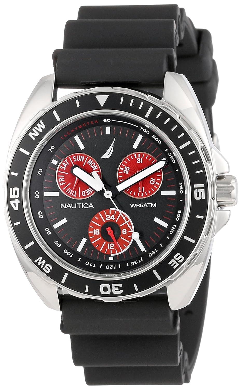 Nautica N07577G - Reloj de pulsera Hombre, Resina, color Negro: Nautica: Amazon.es: Relojes