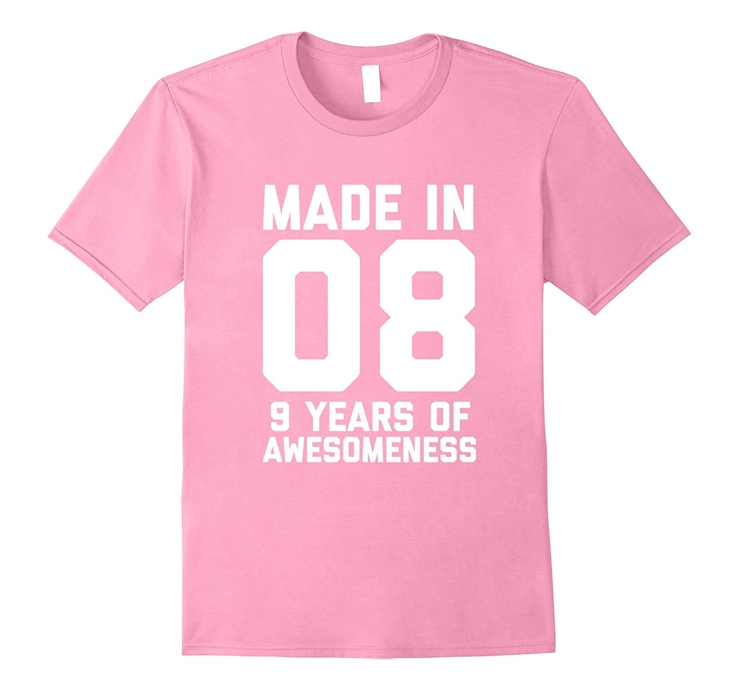 9th Birthday Shirt Gift Age 9 Year Old Boy Girl Tshirt Tee ANZ