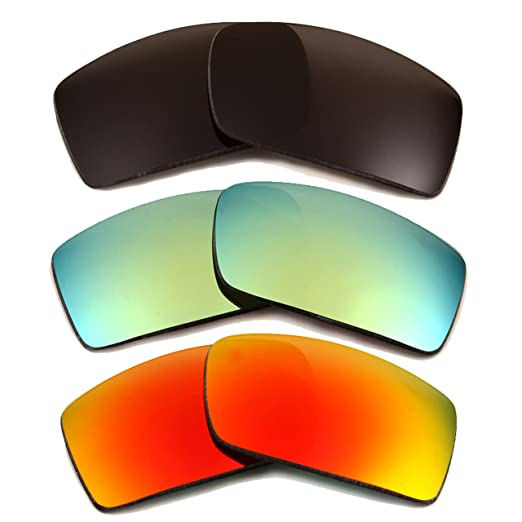 2afe0d2c4e Image Unavailable. Image not available for. Color  Best SEEK OPTICS  Replacement Lenses Oakley GASCAN - Grey Green Red