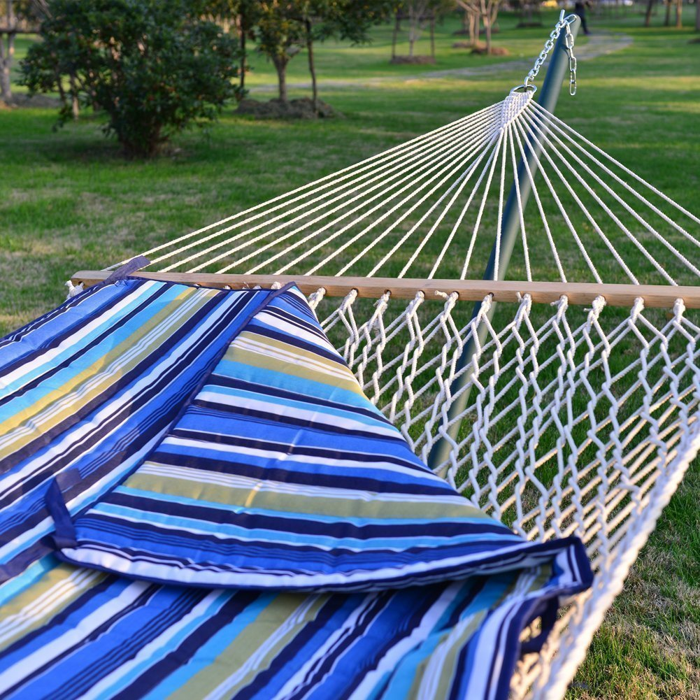 amazon    prime garden 15 foot 4 piece heritage hammock essential package  garden  u0026 outdoor amazon    prime garden 15 foot 4 piece heritage hammock      rh   amazon