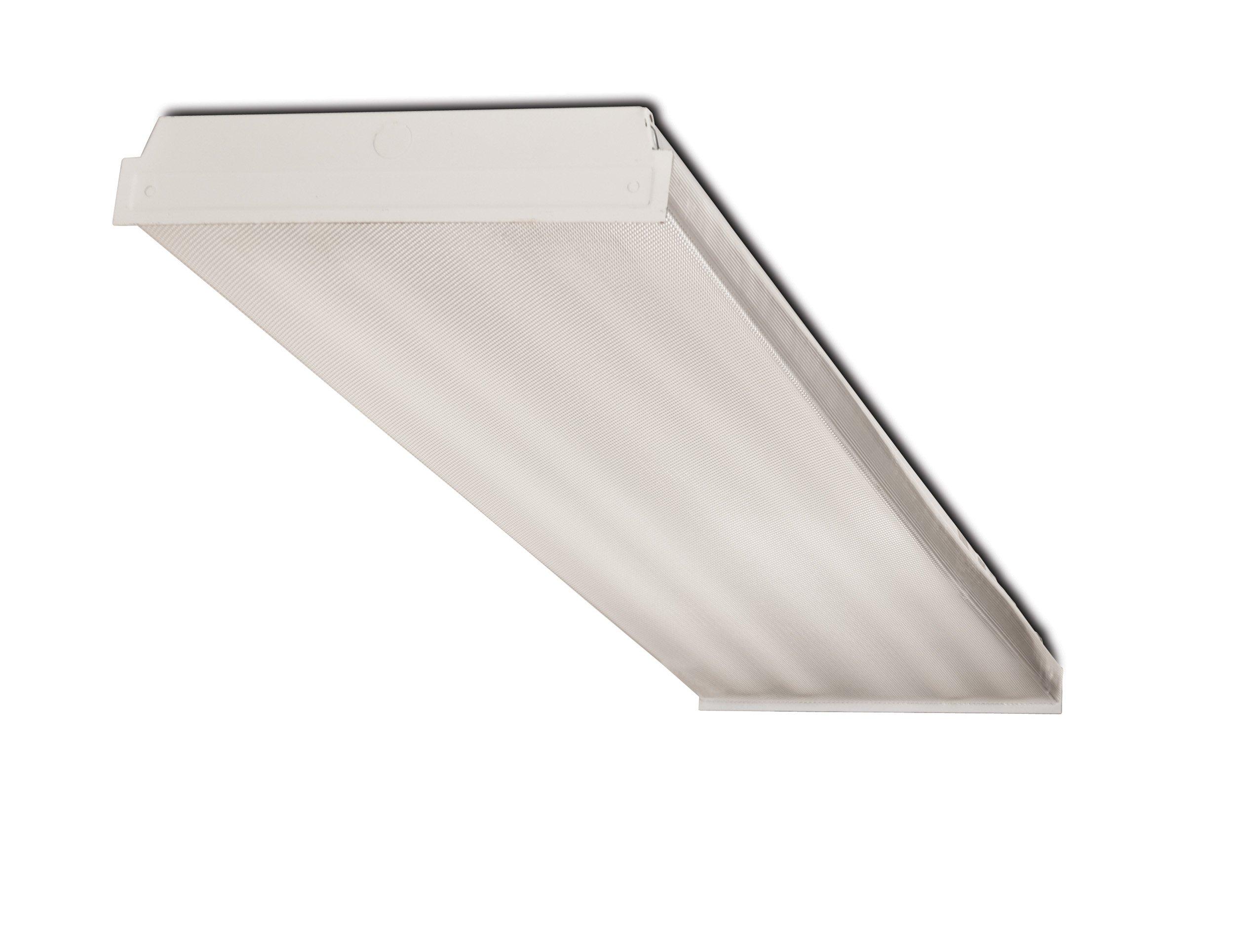 Howard Lighting CW440432ASEMV 4' 4 Lamp 32W T8 Fluorescent Wrap Fixture