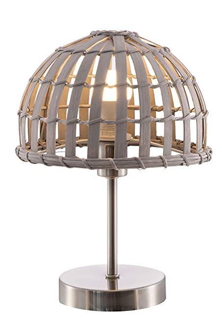 Pro-Online-Consulting Nino 50280102 Canvas lámpara de Mesa lámpara ...