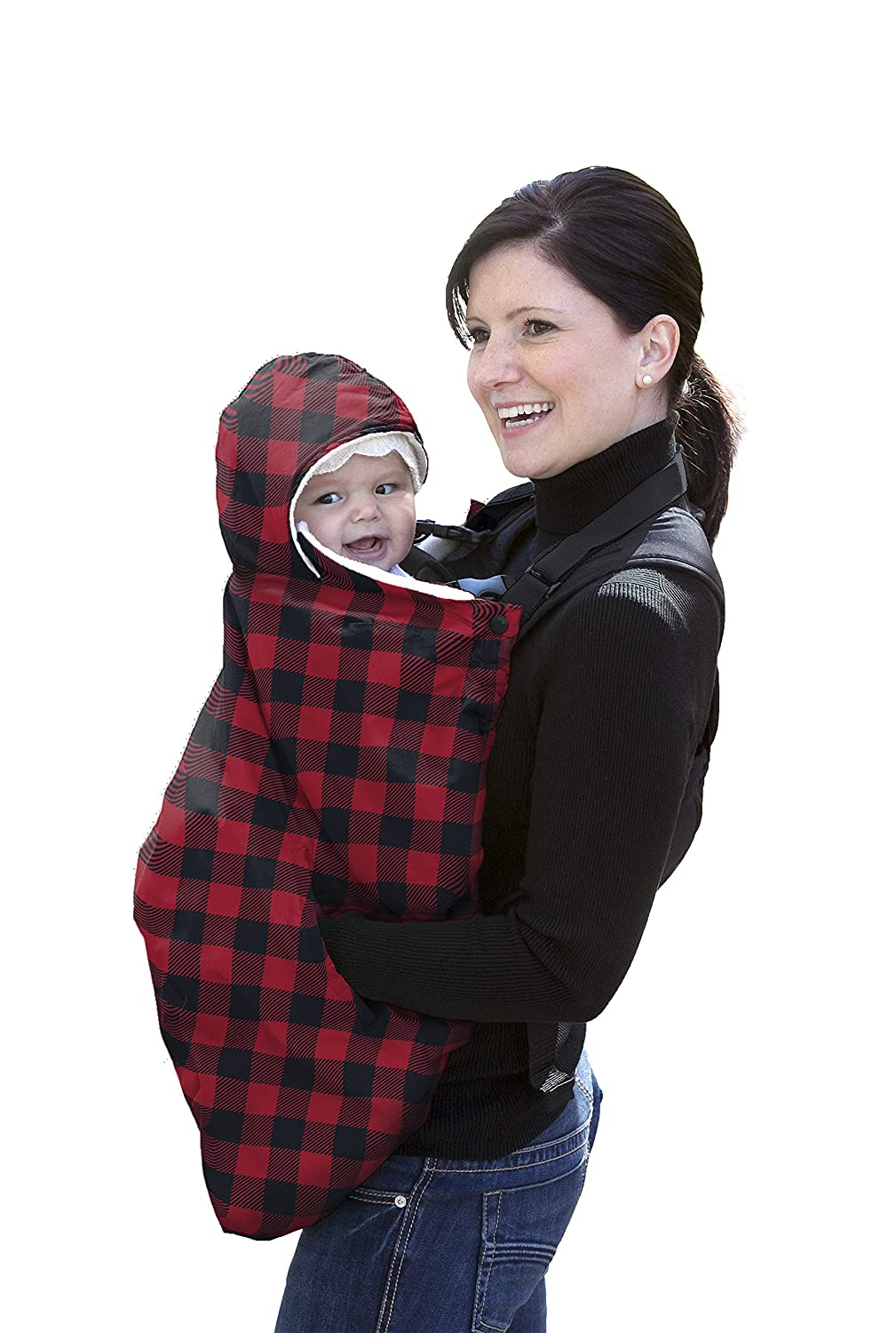 Jolly Jumper Snuggle Cover, Red Plaid 435-05