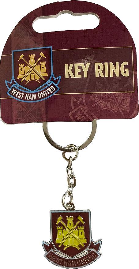 Oficial del West Ham United FC llavero con escudo: Amazon.es ...