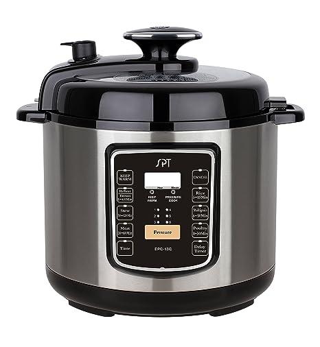 Amazon.com: SPT epc-13 C eléctrico olla de presión con botón ...