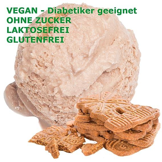 Spekulatius sabor hielo crema en polvo vegan - Azúcar - LACTOSA - GLUTEN - bajo en