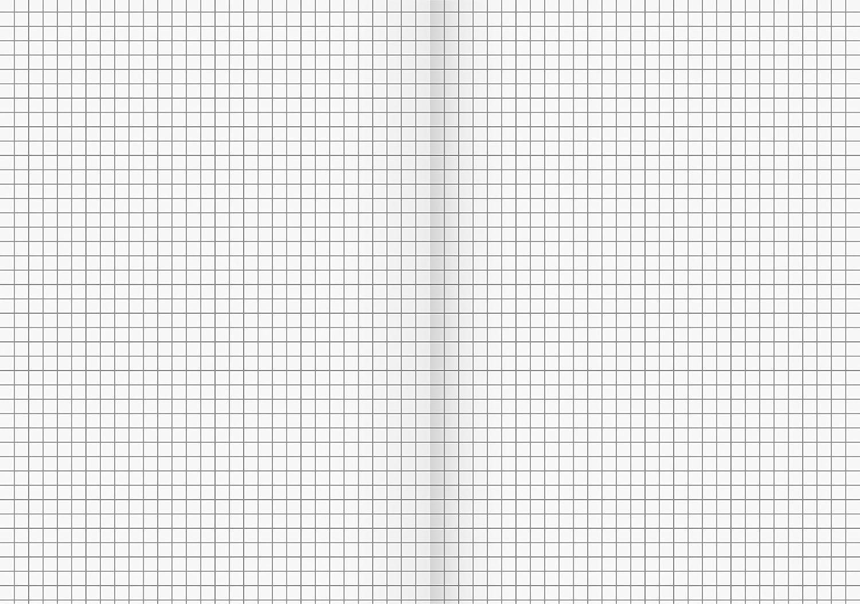 Fontana 104430702/ 32/fogli a quadretti, 7/mm, Rigatura 7 /Quaderno A4/