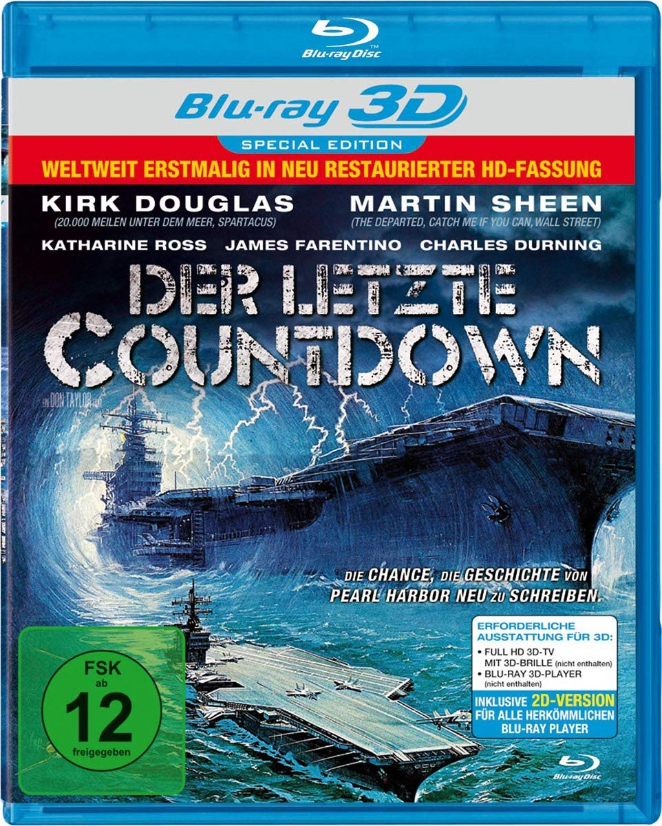 Der letzte Countdown 3D Blu-ray Special Edition Blu-ray ...