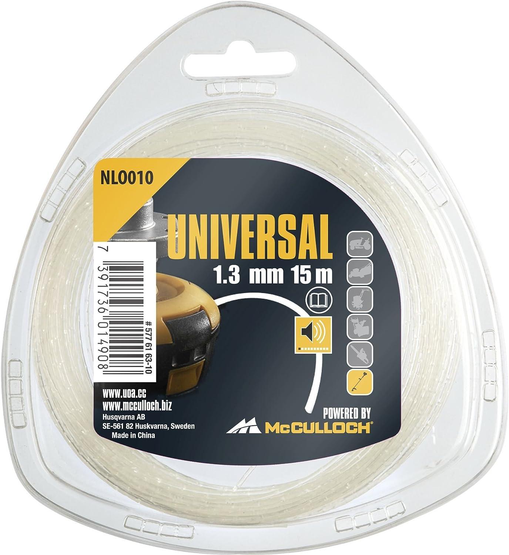 Est/ándar Universal Hilo de Nylon 1.3mm x 15m-Silencioso