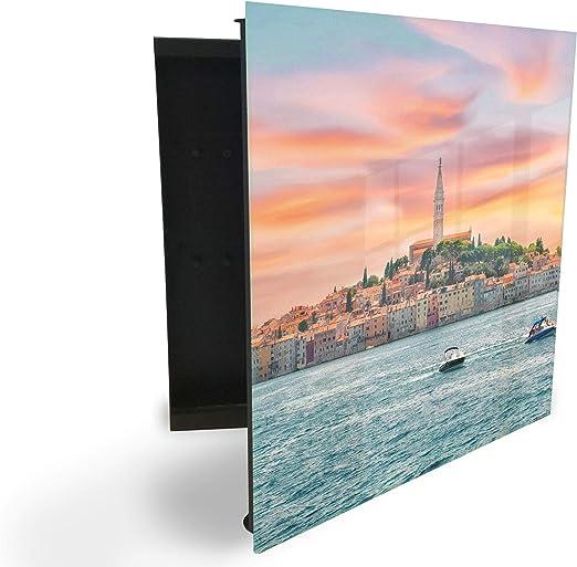 GlassArtist HMF 101836115 - Caja para Llaves (30 x 30 cm, con ...