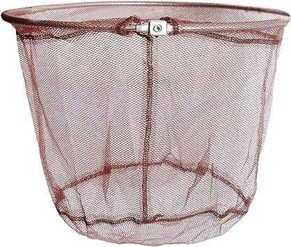 Fishing Tools Nylon Net Mesh Hole Depth Folding Landing Dip Net 3 sizes new.