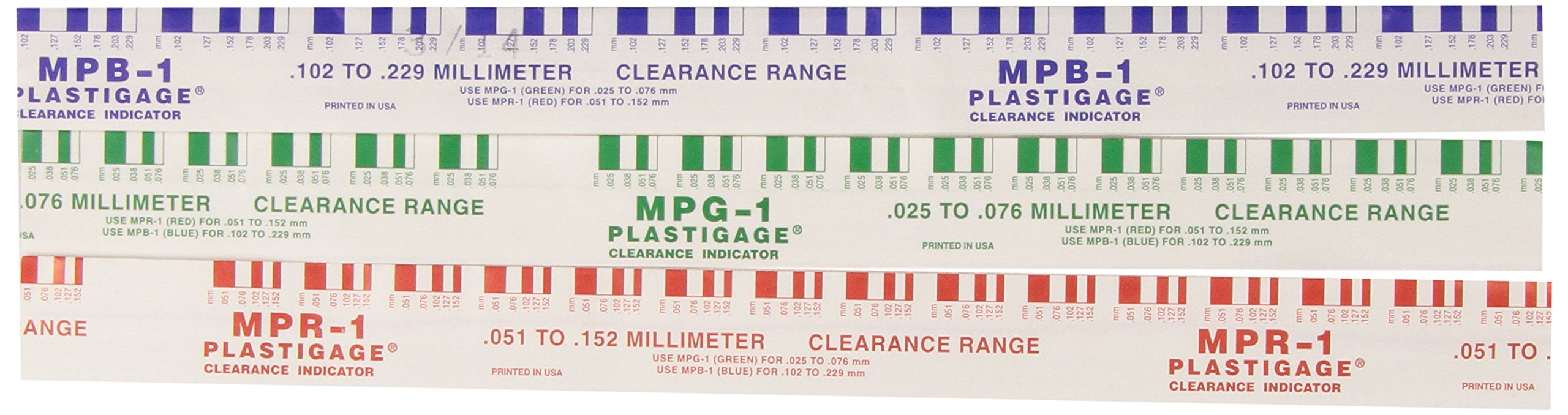 Mopar Performance P4286819 Plastigauge - Set of 5