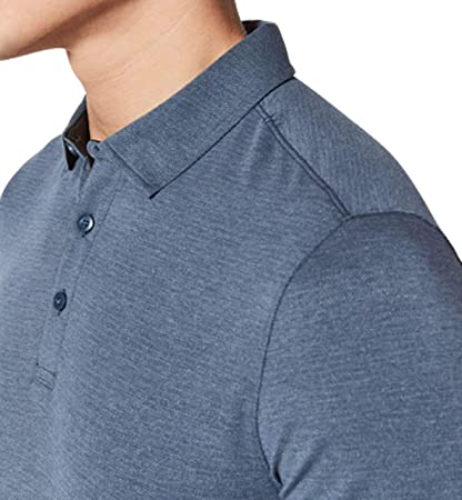 230bb3a96 Amazon.com  Lululemon Mens Evolution Polo Short Sleeve Shirt  Clothing