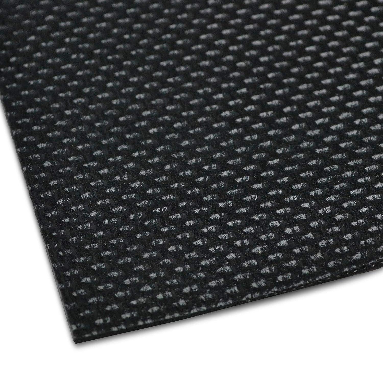 Tapis de protection en 3 tailles noir Tapis antid/érapant de voiture Tapis de coffre avec structure fine pour un maintien parfait Tapis de coffre universel d/écoupable /& lavable