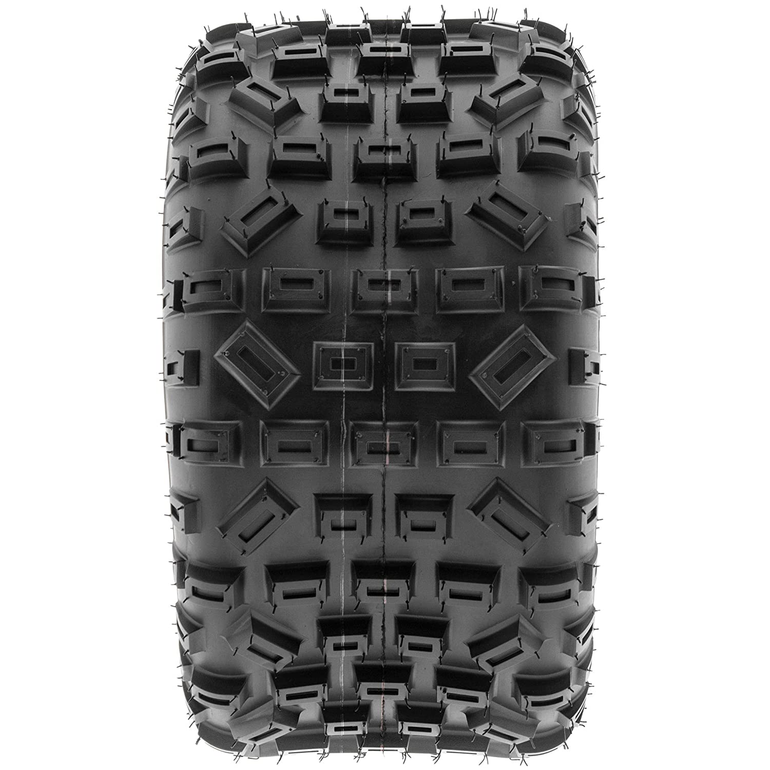 Set of 4 SunF All Terrain Trail Replacement ATV UTV 6 Ply Tires 20x6-10 /& 18x10-8 Tubeless A035,