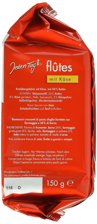 Jeden Tag Flutes Käse, 3er Pack (3 x 150 g): Amazon.de: Amazon Pantry