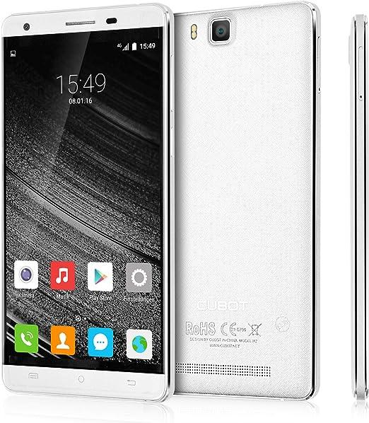 Cubot H2 - Smartphone libre Android 5.1 (pantalla 5