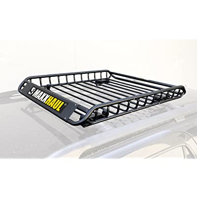 "MAXXHAUL 46"" x 36"" x 4-1/2"" - 150 lb. Capacity - NOT Assembled 70115 Steel Roof Rack-150 lb: Automotive"