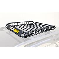 MaxxHaul 150 lbs. Capacity Universal Steel Roof Rack Car Top Cargo Carrier