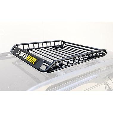 MaxxHaul 70115 Steel Roof Rack-150 lb Capacity