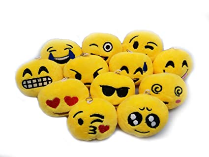 Buy 8pcs Emoji Smiley Emoticon Cushion Stuffed Plush Toy Doll